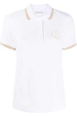 Moncler Logo-patch polo top