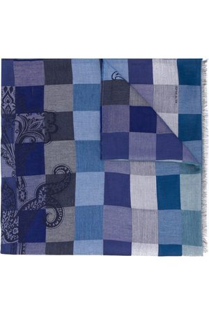 Etro Checkered print scarg
