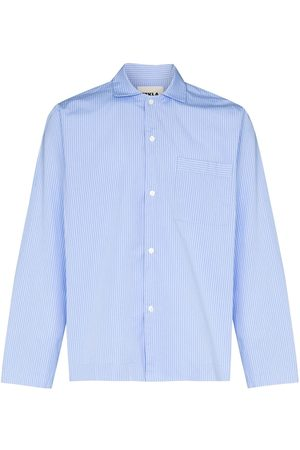 Tekla Fabrics Organic cotton pyjamas shirt