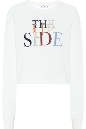 The Upside Faith cotton-jersey sweatshirt