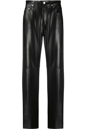 Nanushka Vinni leather-effect trousers