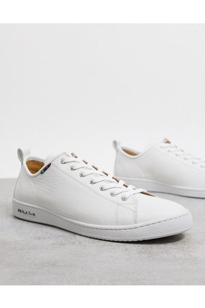 Paul Smith Miyata leather trainers in