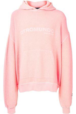MARCELO BURLON Otromundo textured hooded sweatshirt