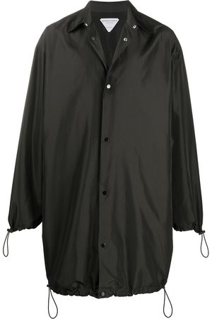 Bottega Veneta Button-up midi raincoat
