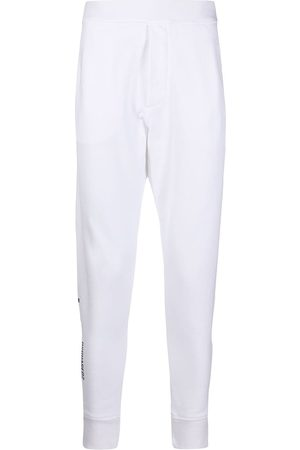 Dsquared2 Icon slogan tapered track pants
