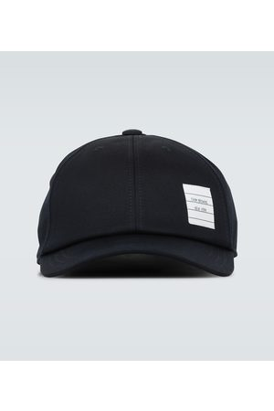 Thom Browne Cotton twill baseball cap