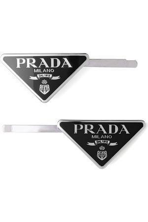 Prada Women Hair Accessories - Set of two hair clips