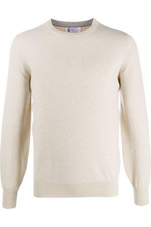 Brunello Cucinelli Cashmere fitted jumper