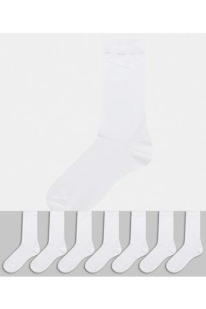 ASOS Men Socks - 7 pack ankle sock in save