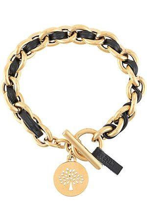 MULBERRY Women Bracelets - Medallion leather chain bracelet