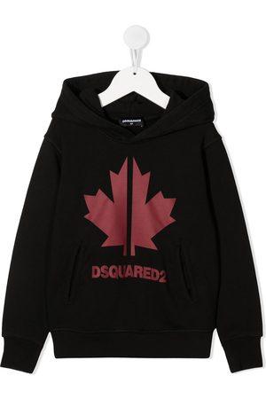 Dsquared2 Maple Leaf print hoodie