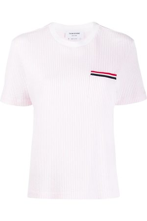 Thom Browne Ribbed knit t-shirt