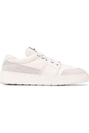 Ami Logo patch low-top sneakers