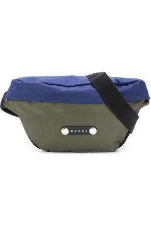 Marni Colour-block belt bag