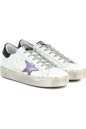 Golden Goose Hi Star leather sneakers