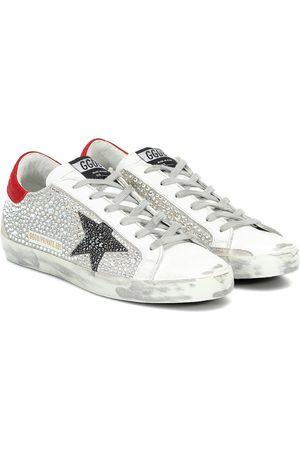 Golden Goose Exclusive to Mytheresa – Superstar embellished sneakers