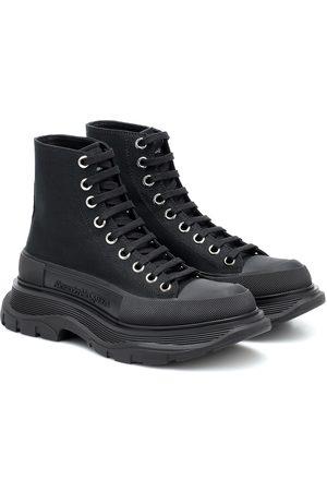 Alexander McQueen Tread Slick canvas sneakers