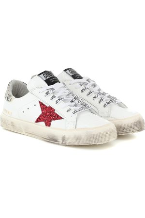 Golden Goose May leather sneakers