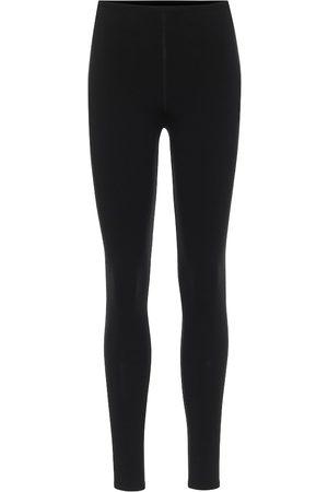 Alaïa Stretch-wool leggings