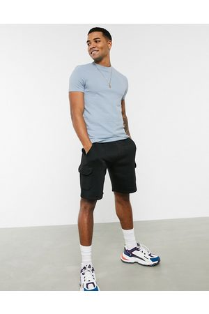 ASOS Muscle fit t-shirt in pique in