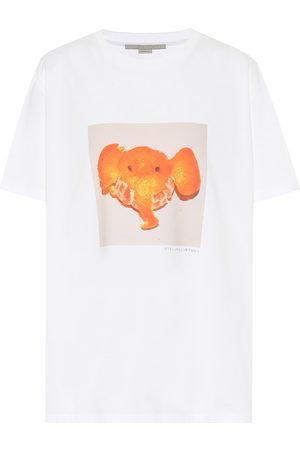 Stella McCartney Organic cotton-jersey T-shirt