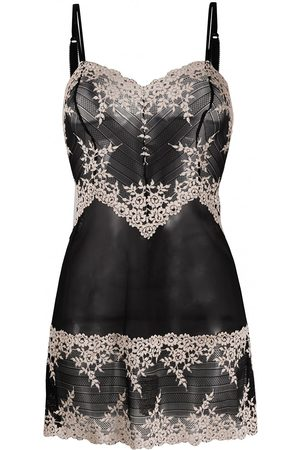 Wacoal Floral embroidered chemise