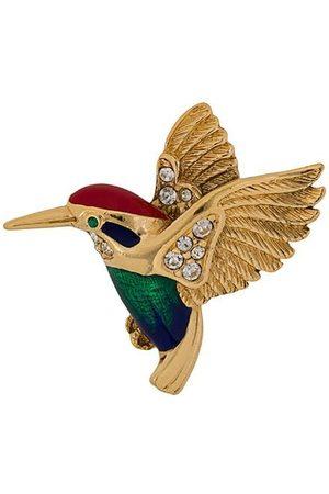 Susan Caplan Vintage 1960s Attwood & Sawyer Hummingbird brooch