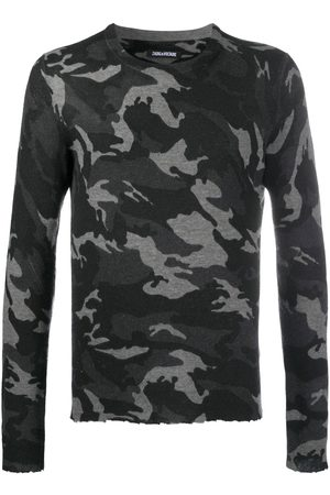 Zadig & Voltaire Kennedy camouflage-print sweater