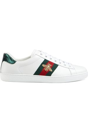 Gucci Men Sneakers - Ace embroidered sneaker
