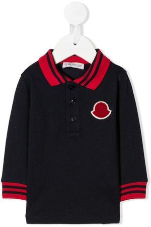 Moncler Logo patch polo shirt
