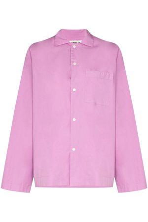 Tekla Long-sleeve organic cotton pyjama shirt