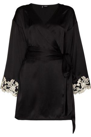 La Perla Maison Frastaglio lace-embroidered robe