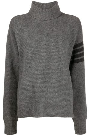 Thom Browne Wool-blend turtleneck jumper