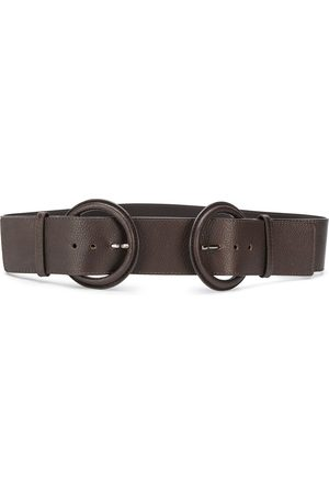 Gianfranco Ferré 2000s double buckle belt