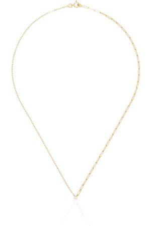 YVONNE LÉON 18kt mixed chain diamond necklace
