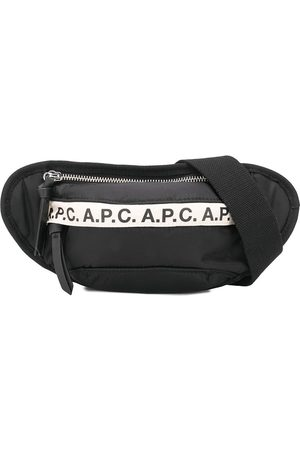 A.P.C Logo-tape belt bag