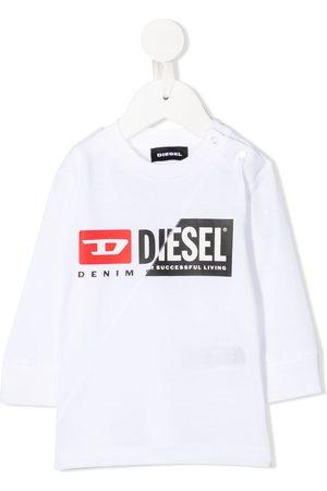 Diesel Split logo T-shirt