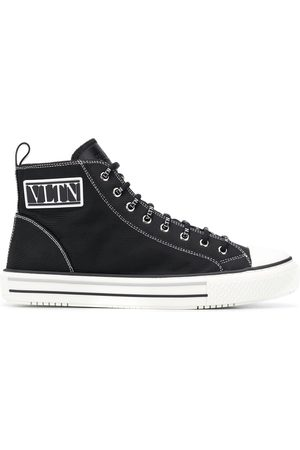VALENTINO VLTN patch high-top sneakers