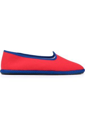 VIBI VENEZIA Canvas flat loafers