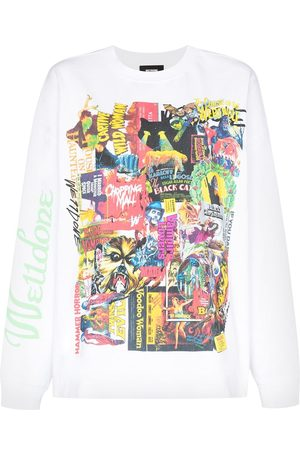 We11 Done Horror Collage T-shirt