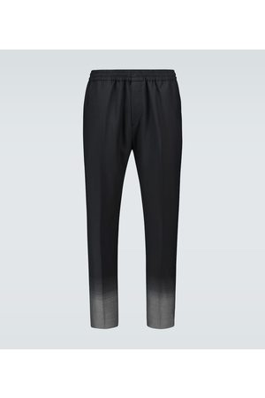 Givenchy Gradient jacquard wool pants