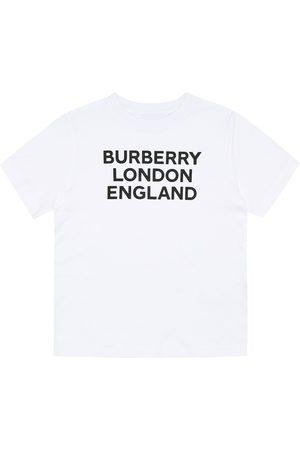 Burberry Logo cotton-jersey T-shirt