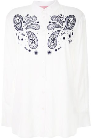 BAPY BY *A BATHING APE® Paisley-print long-sleeve shirt