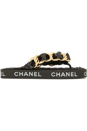 CHANEL 1993 chain strap sandals