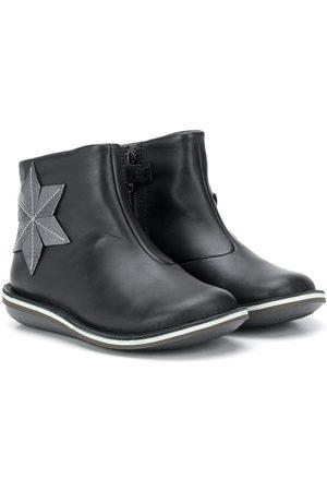 Camper Kids Star appliqué leather boots