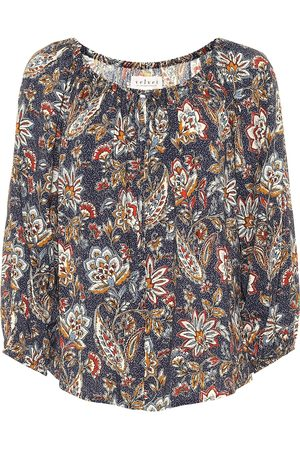 Velvet Odet floral blouse