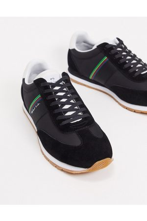 Paul Smith Men Sneakers - Prince leather trainers in