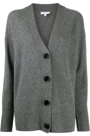 Equipment Women Cardigans - Elder V-neck cashmere cardigan