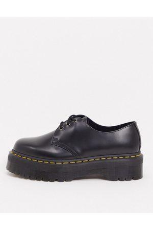 Dr. Martens Men Brogues - 1461 3 eye quad platform shoes in