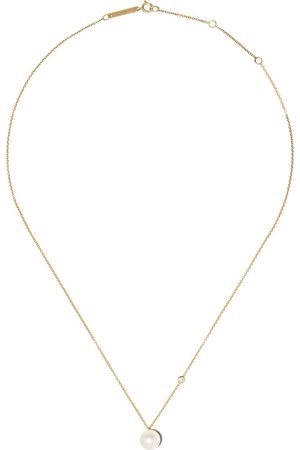Zoe Chicco 14kt pearl and diamond necklace